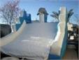 מתקן מתנפח למים - מגלשת דולפין