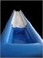 מתקן מתנפח למים - מגלשת קצף
